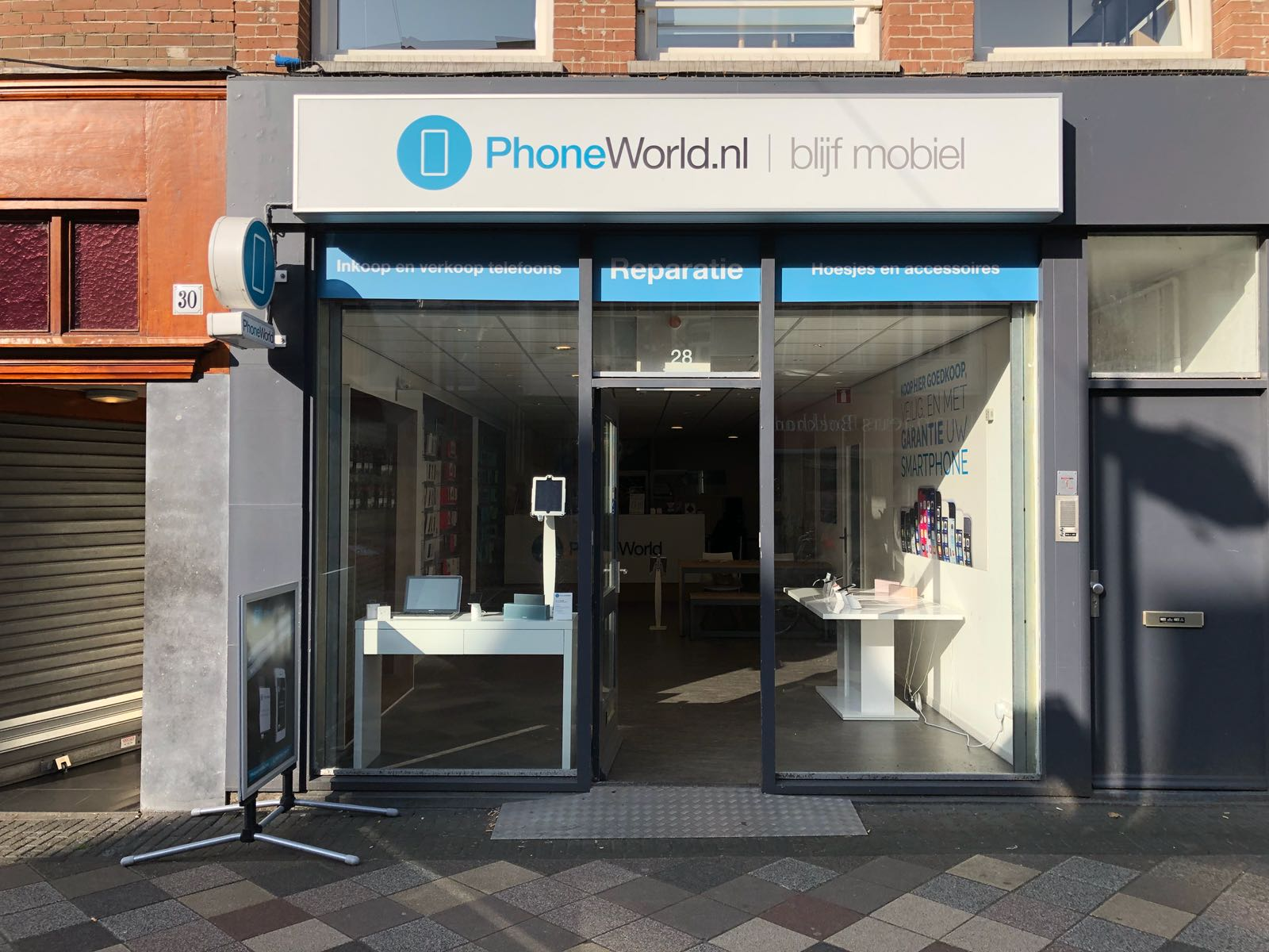 Phoneworld Amsterdam centrum - telefoon, iphone, tablet, macbook reparatie